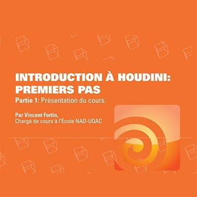 Introduction à Houdini : premiers pas